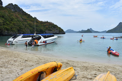 Day Trip to Angthong Marine Park by Speed Boat from Koh Phangan