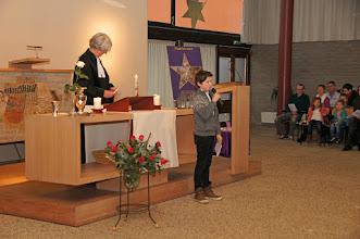 Photo: Kerkdienst in de Open Hof te Culemborg op Eerste Kerstdag 2016 - Foto's: Wim de Bruijne