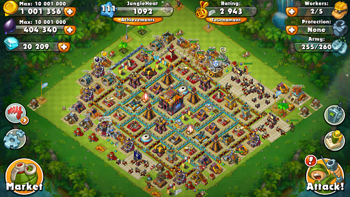 Jungle Heat: War of Clans screenshot 6