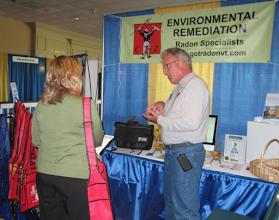 Photo: CZ Construction Management in Ludlow, VT at the Vermont Association of Realtors Showcase