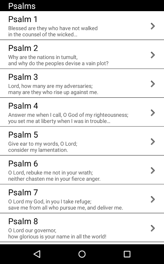 Reflections on the Psalms- screenshot