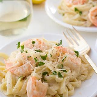 White Wine Garlic Shrimp Pasta Recipes.