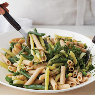 Pasta Salad with Peas and Summer Beans