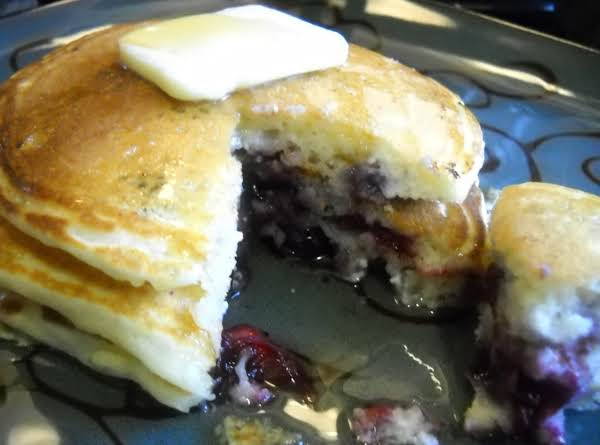 Blueberry Ricotta Pancakes Recipe