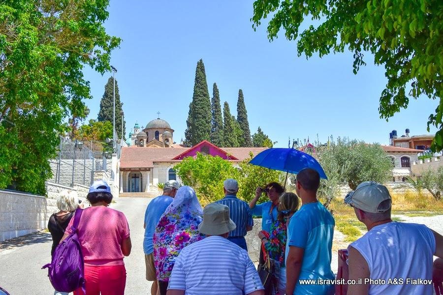 Экскурсия гида в Израиле Светланы Фиалковой по Галилее, Кана Галилейская.