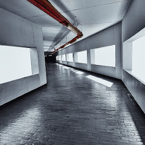 a tunnel to remember by Erwan Photochrome - Buildings & Architecture Other Interior