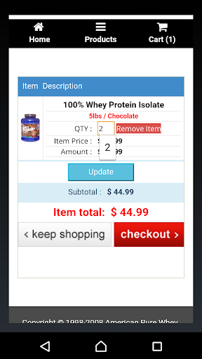 APW Vitamin, Supplement Store for PC