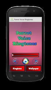 Parrot Voice Ringtones - náhled