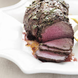 Beef Tenderloin with Chermoula (North African Marinade).