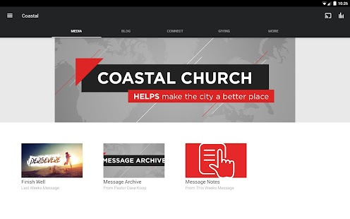 Coastal Church- screenshot thumbnail