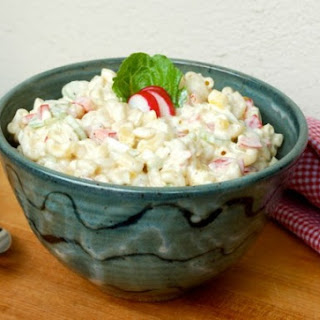 Classic Macaroni Salad Made Lighter