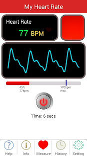 My Heart Rate- screenshot thumbnail