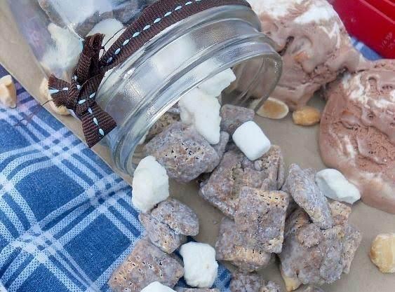 Rocky Road Muddy Buddies Recipe