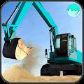 Heavy Excavator Construction Zone Site Excavation APK