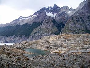 Photo: Glacier scene on the hike