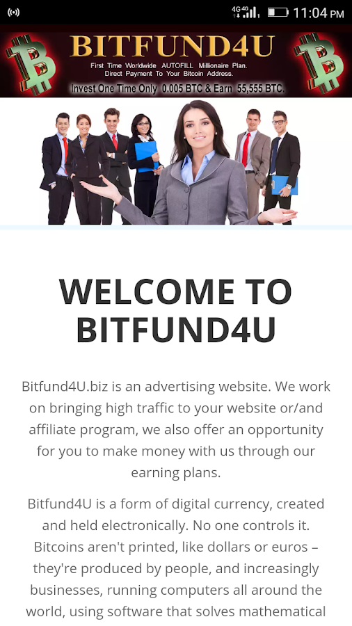 BITFUND4U- screenshot