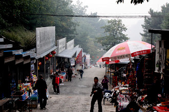 Photo: Day 191 - Store Sellers at the Mutianya Section of the Great Wall of China