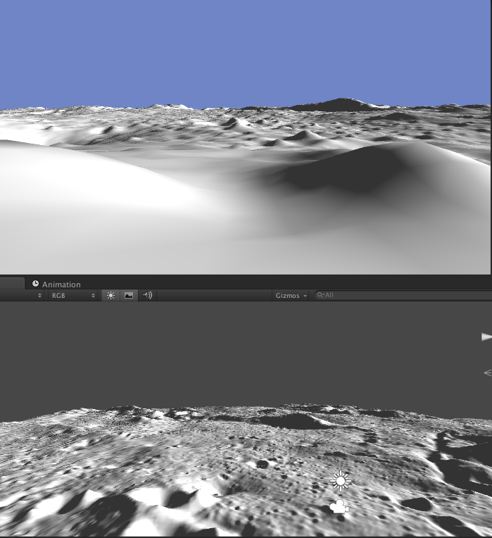 how to make a texture heightmap from image