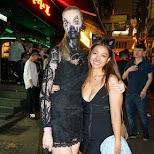girls at Hong Kong halloween street party in Hong Kong, , Hong Kong SAR