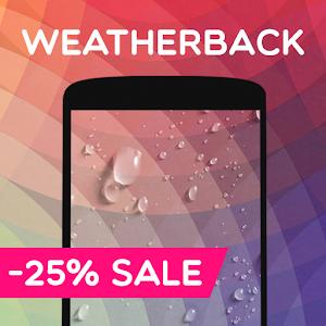 Weather Live Wallpaper: Rain, Snow, weather apps💧