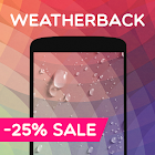 Weather Live Wallpaper: Rain, Snow, weather apps icon