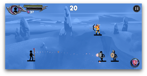 The Wizard: Stickman War apktram screenshots 10
