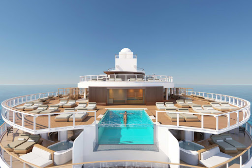 ncl-Prima-The-Haven-Sundeck-Pool.jpg -  The Haven, a premium enclave on Norwegian Prima, features the personal service of a 24-hour butler and access to an exclusive infinity pool and sundeck.