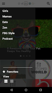 Fit Bottomed World App- screenshot thumbnail
