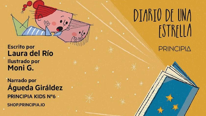 Audiocuento infantil Diario de una estrella de Principia Kids.