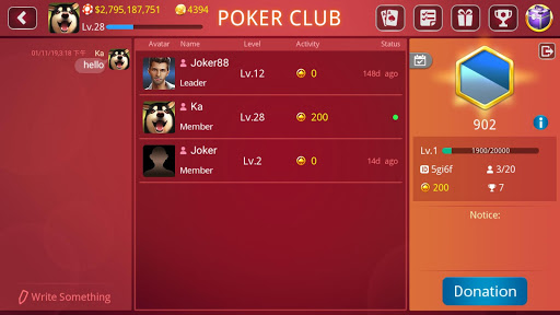 DH Texas Hold'em Poker 1.1.9 Mod screenshots 5