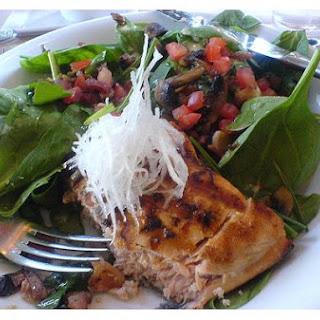 Mushroom and Bacon Salad