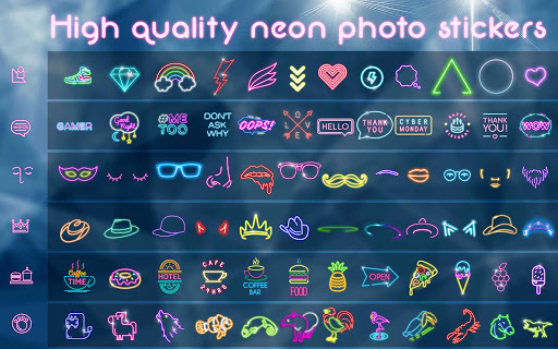Neon Photo Editor ? Light Effects for Pictures 1.1 screenshots 8