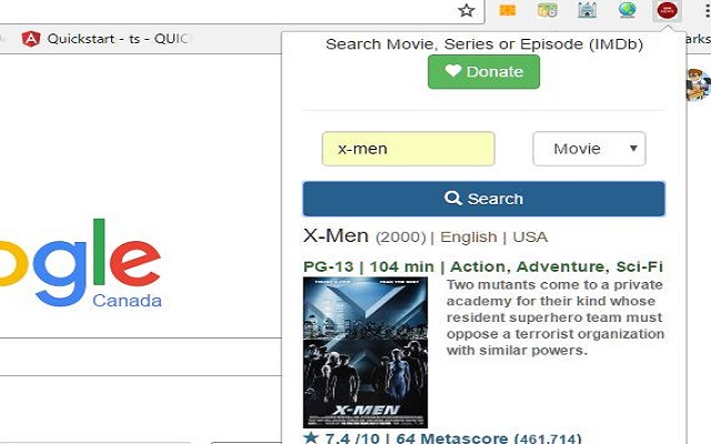 Search Movies or TV shows
