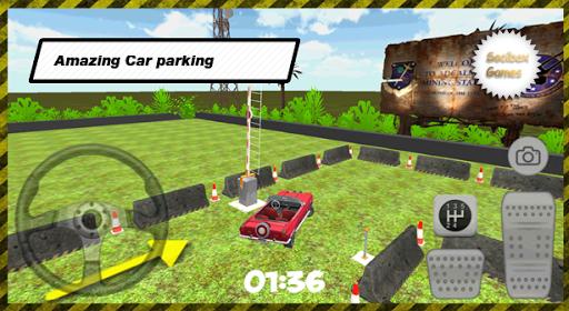 3D跑车停车场
