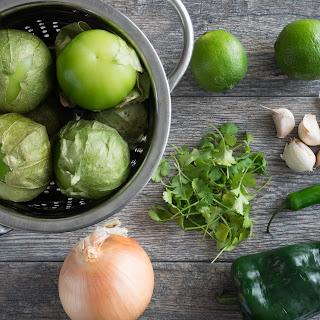 Creamy Tomatillo Green Sauce