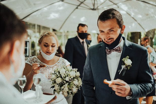 Pulmafotograaf Anna Chaszczyńska-Ruda (weddingatthetop). Foto tehtud 25.08.2020