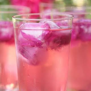 Floral Sparkling Drink.