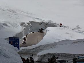 Photo: Timmelsjoch mit 10m Schnee... :-)))