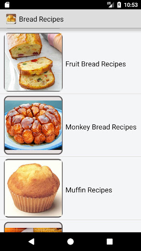 bread recipes - quick bread, banana bread recipes screenshots 3
