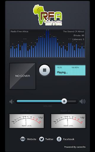 Radio Free Africa 1.0.2 screenshots 1