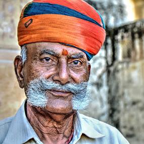 Moustache by Rakesh Das - People Portraits of Men