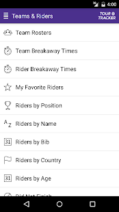Tour Tracker Tour de France 2017- screenshot thumbnail