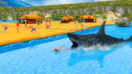 Hungry Shark Attack - Wild Shark Games 2019 screenshot 2