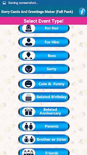 Design Sorry Greeting Cards - náhled