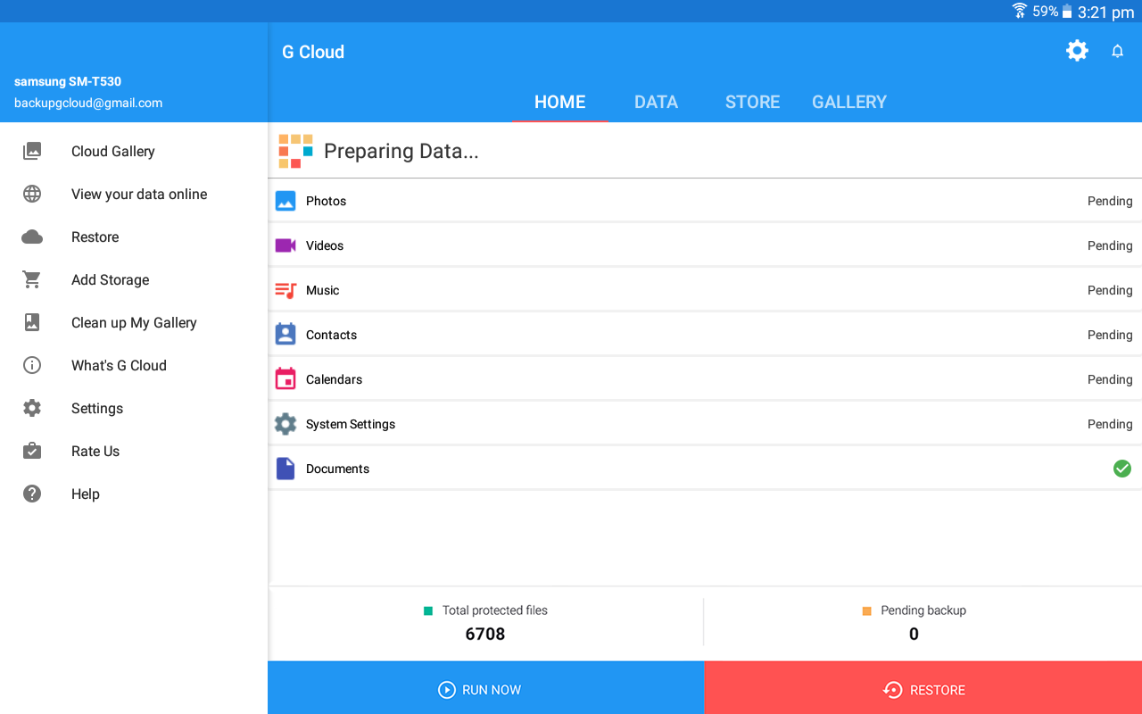 G Cloud Backup Android Apps on Google Play