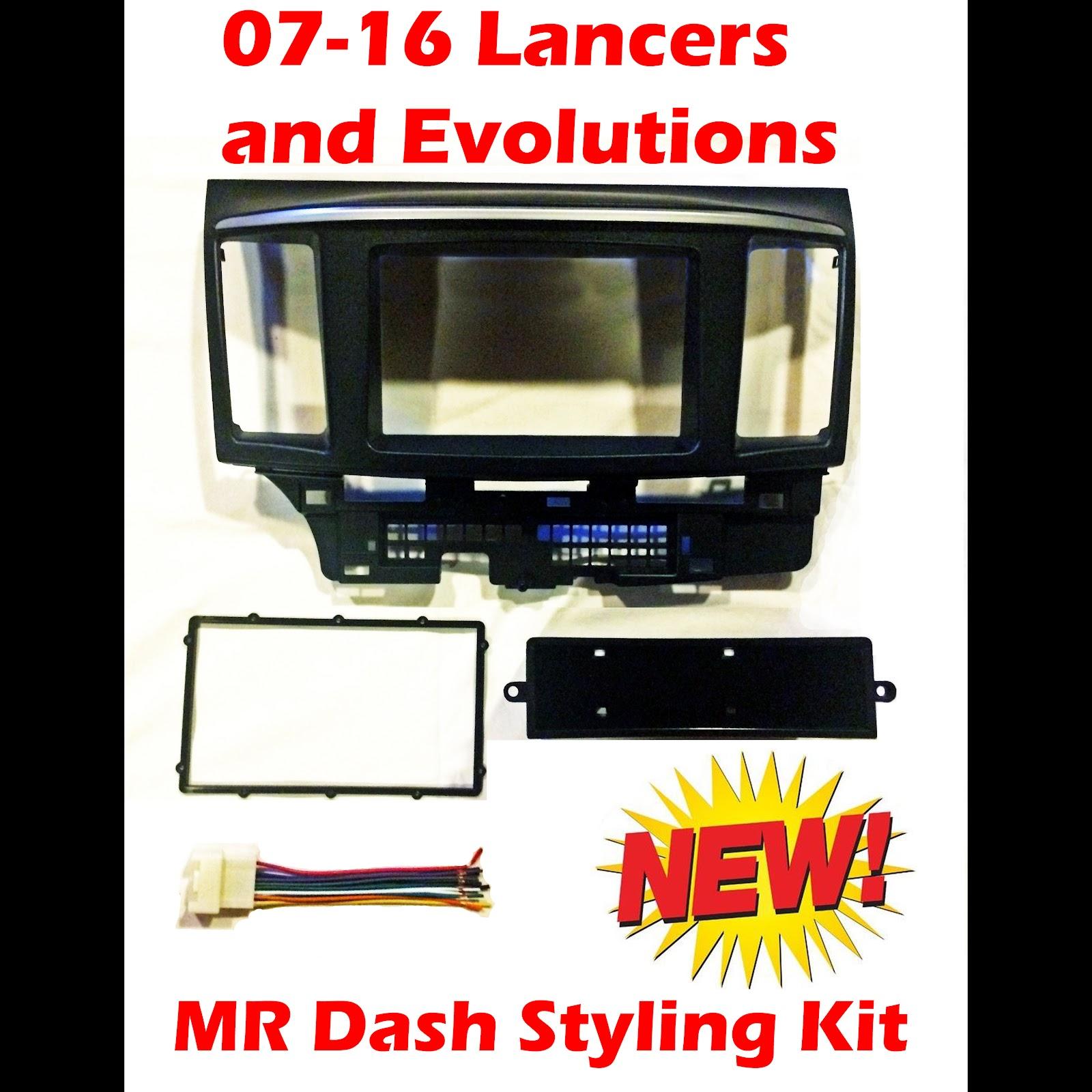 New Metra 99-7011 Single//Double DIN Stereo Dash Kit for 2008 Mitsubishi Lancer