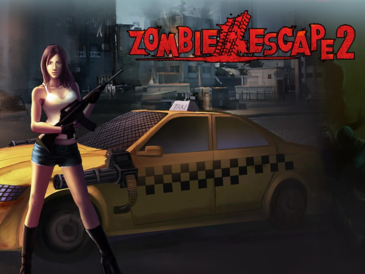 Zombie Escape2-TheDriving Dead- screenshot