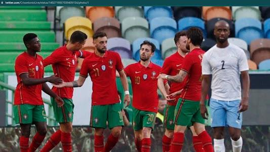 Hasil Uji Coba EURO 2020 - Bruno Fernandes Gacor dan Ronaldo Cetak Gol, Portugal Hajar Telak Israel - Bolasport.com