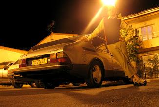 Photo: SAAB 900 by night