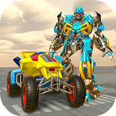 ATV Quad Racing Moto Robot Transformation Game
